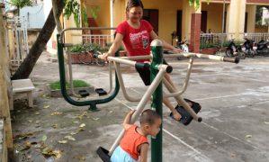Sân chơi cụm 3B – Phú Thượng, Tây Hồ, Hà nội