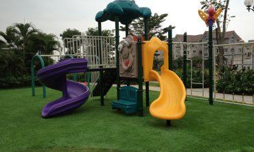 Sân chơi khu Hoa Phượng 2 – VINHOMES RIVERSIDES, Long Biên, Hà nội