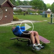Outdoor-gym-equipment---Double-Sit-Up-Boards