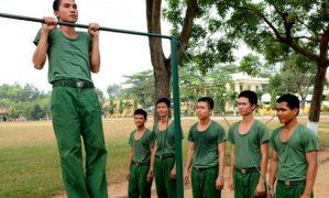 Tiêu chuẩn rèn luyện thể lực trong quân đội