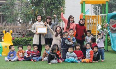 Trường mầm non Tuổi Thần Tiên – KĐT Đại Thanh