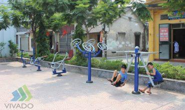 Sân chơi cộng đồng tổ dân phố 16 – Phường Đức Giang, Q. Long Biên, Hà Nội