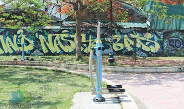 Vườn hoa dốc Trích Sài, Bưởi, Q. Tây Hồ