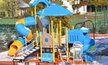 Các tổ hợp cầu trượt sân chơi trẻ em – VIVADO