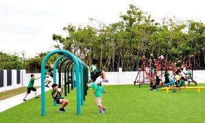 Lợi ích của thiết bị sân chơi cho trẻ em.