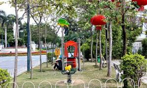 Cận cảnh công viên Dịch Vọng vào cửa miễn phí, đẹp nhất Hà Nội