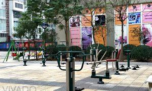 Sân chơi khu chung cư – nhu cầu thiết yếu