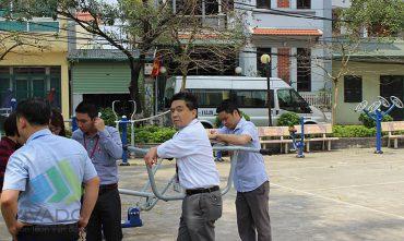 Sân chơi cộng đồng – Tổ 19, phường Long Biên, quận Long Biên, Hà Nội