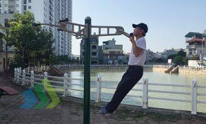 Nhộn nhịp phong trào tập luyện thể dục thể thao ngoài trời