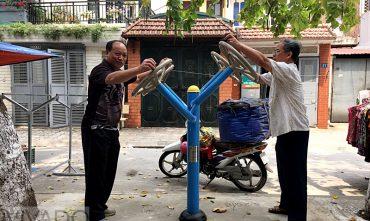 Sân chơi cộng đồng Tổ 5 Gia Thụy – Long Biên
