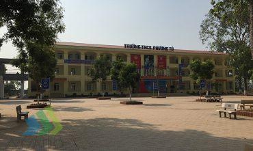 Khu rèn luyện thể chất trường THCS Phương Tú (Ứng Hòa – Hà Nội)
