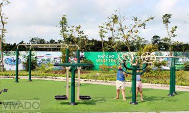 Sân chơi KĐT phố chợ Vĩnh Trụ