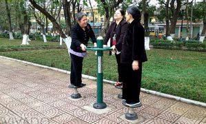 Thành phố  Bắc Kinh ( Trung Quốc) khuyến khích phong trào tập thể dục ngoài trời