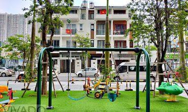 Sân chơi trẻ em chung cư Green Pearl