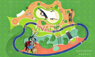 Mô hình sân chơi trẻ em ngoài trời – VIVADO05