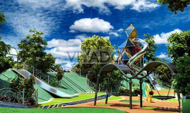 Mô hình sân chơi trẻ em ngoài trời – VIVADO06