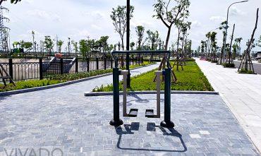 Sân chơi ngoài trời KĐT Phú Lộc (Cẩm Giàng, Hải Dương)