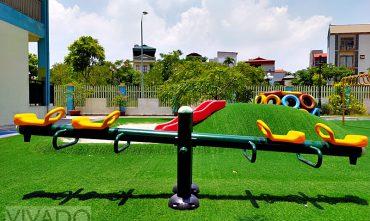 Sân chơi trường mầm non Sunshine House