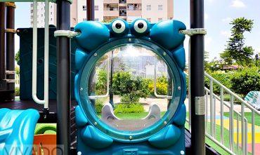 Tổ hợp cầu trượt sân chơi trẻ em KQ50071C