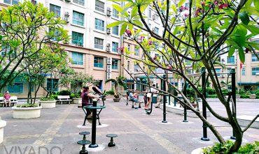Sân chơi cộng đồng tòa nhà CT4 SUDICO – Mễ trì, Hà Nội