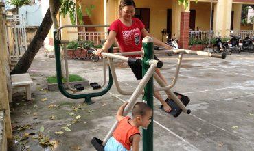 Sân chơi cụm dân cư 3B- Phú Thượng – Tây Hồ – Hà nội