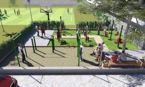 Sân tập thể thao công ty VINATA – Một mô hình mới