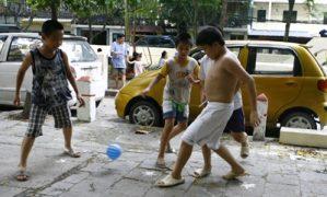 Đỏ mắt tìm sân chơi cho trẻ tại Hà Nội
