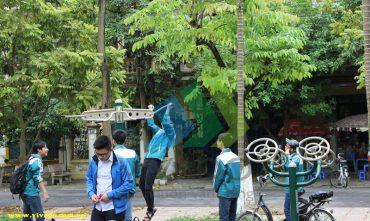 Vườn hoa Đổng Thiên – TP Bắc Ninh