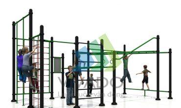 Tổ hợp vận động liên hoàn – Dành cho trường học