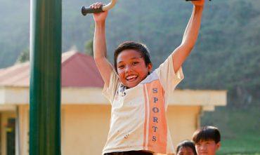 Dự án GVI – Trường PTTH Thải Giàng Phố – Bắc Hà – Lào Cai