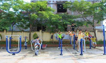 Sân chơi cộng đồng – P. Phúc Lợi, Q. Long Biên, Hà Nội