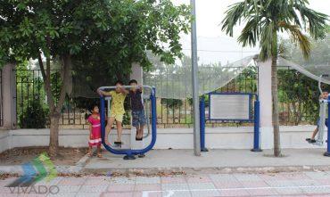 Sân chơi cộng đồng – P.Cự Khối, Long Biên