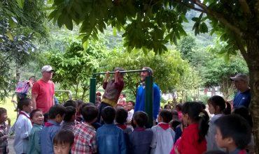 Dự án GVI – Trường THCS Thải Giàng Phố, Bắc Hà, Lào Cai