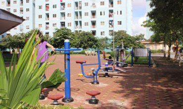 Sân chơi cộng đồng tổ 17 – P.Đức Giang, Q. Long Biên