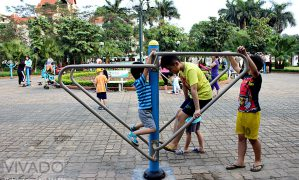 Vui cùng… sân chơi cộng đồng