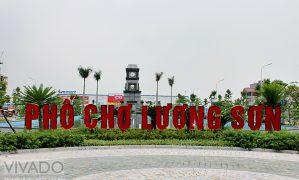Phố Chợ Lương Sơn – Mô hình BĐS mới hiệu quả.