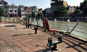 Sân chơi cộng đồng cụm 7 – P. Phúc Lợi, Long Biên