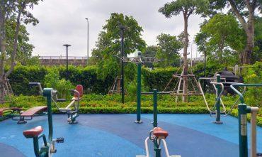 Sân tập TDTT ngoài trời – Vinhomes Green Bay