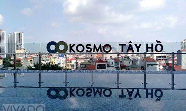 Sân chơi chung cư KOSMO TÂY HỒ