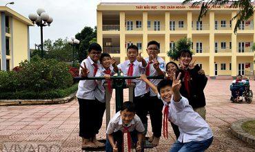 Sân chơi trường THCS Đông Ngàn, Từ Sơn