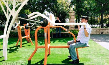 Thiết bị tập Gym ngoài trời thế hệ mới