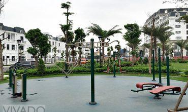 Sân Gym ngoài trời khu Ven sông – Vinhomes Imperia Hải Phòng