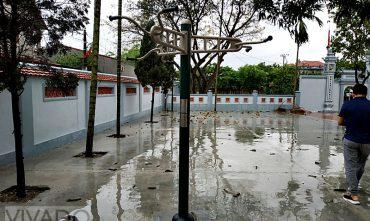 Sân chơi cộng đồng Cụm 5, Phù Lỗ, Sóc Sơn, Hà Nội