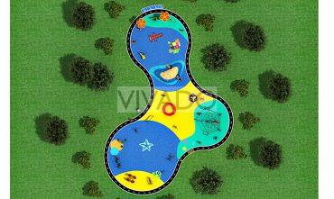 Mô hình sân chơi công viên