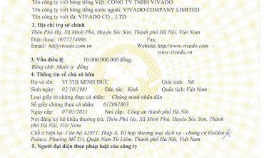 Công ty TNHH VIVADO (VIVADO Co.,ltd)