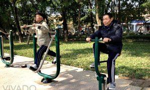 Vận động với tuổi lão niên