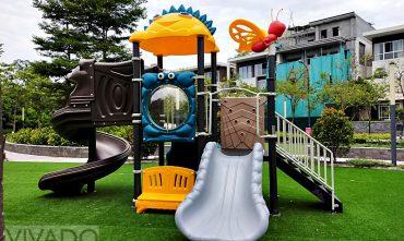 Tổ hợp cầu trượt sân chơi trẻ em VVD-P49