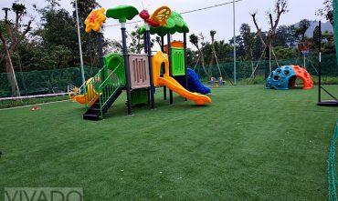 Sân chơi ngoài trời – White Villa Homestay