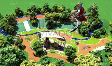 Mô hình sân chơi trẻ em ngoài trời – VIVADO07