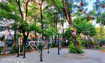 Sân chơi trường liên cấp tiểu học & THCS Ngôi Sao Hà Nội